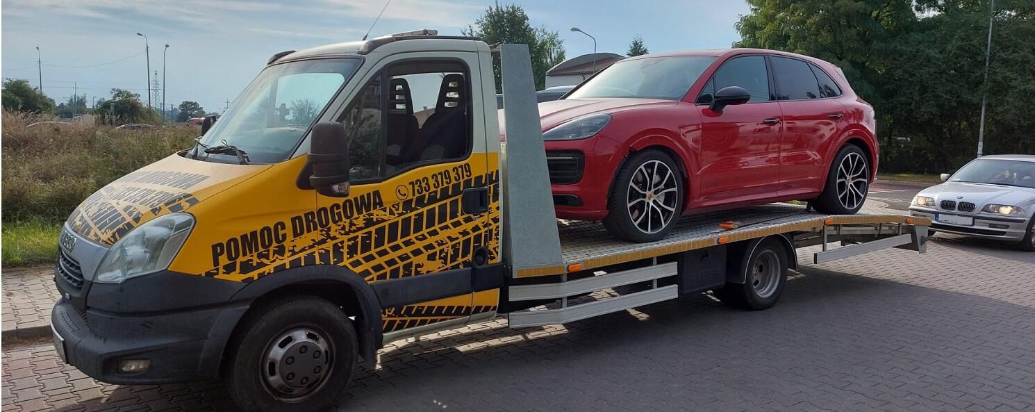 pomoc drogowa z Poznania